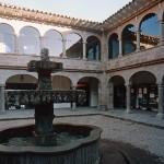 Patio Coricancha Cuzco
