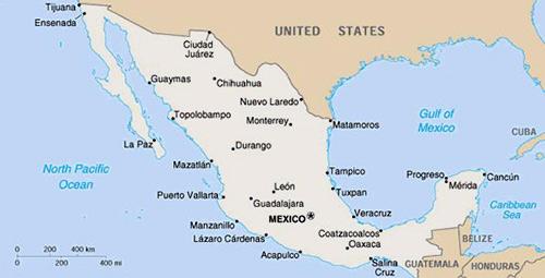 Map-Mexico