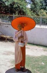 Monje Mingun Monk