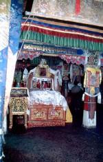 Lama's room Drepung Monastery