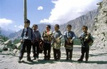 Kids along the Hunza Valley
