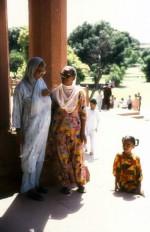 Women at the Badshahi Masjid