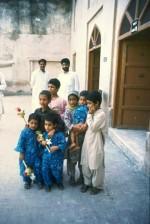 Kids at the Badshahi Masjid