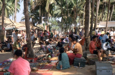 Anjuna Flea Market 90's