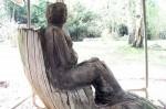Stump Woman Zuckerberg Island
