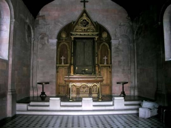 Inside Memorial Chapel, Queretaro