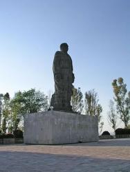 Statue of Benito Juarez, Cerro de las Camapanas, Queretaro