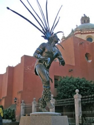 Danzing Conchero Chichimeca Queretaro