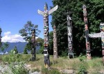 Totems Stanley Park Vancouver