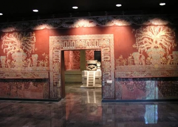 Mural of Tlalocan The National Museum of Anthropology, Mexico City, DF