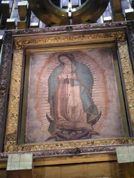 Shroud of our lady of Guadalupe