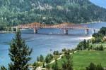 Orange Bridge Nelson BC Canadá
