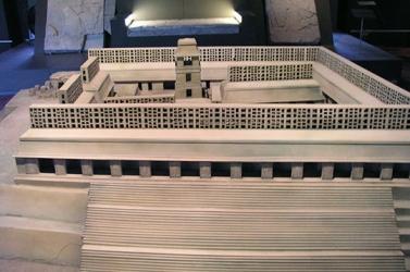Maqueta del Palacio - The Palace in scale model