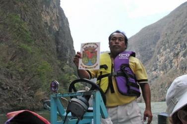 Escudo de Chiapas inspirado en el Cañón del Sumidero - Coat of Arms of Chiapas
