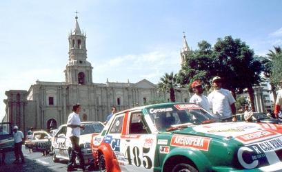 Carrera de autos Arequipa