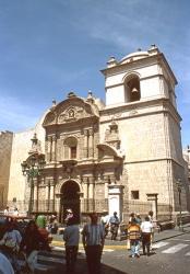 Iglesia de la Compañia Arequipa