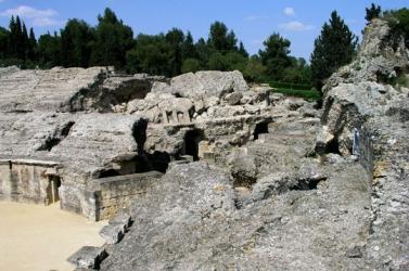 Amphitheatre of Italica Sevill
