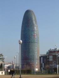 Barcelona y La Torre Agbar