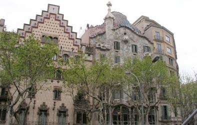 Casa Batlló, Paseo de Gracia, Barcelona