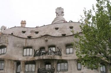 Casa Milá o Pedrera (Gaudí), Barcelona