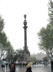 Estatua de Colon, Barcelona