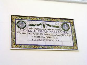 Cervantes Calle de la Sierpe