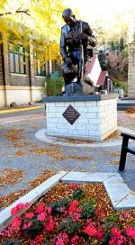 True Champion statue Trail BC