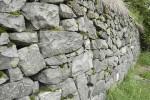 Trail's historic rock walls